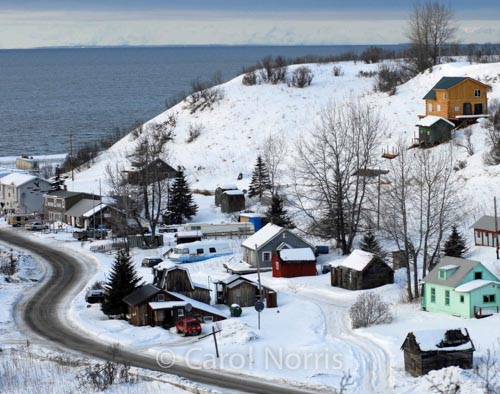 America-Alaska-village-winter