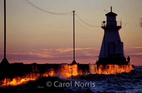 Canada-Ontario-Southampton-Lake-Huron-sunset