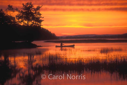 Canadiana-sunrise-canoeing