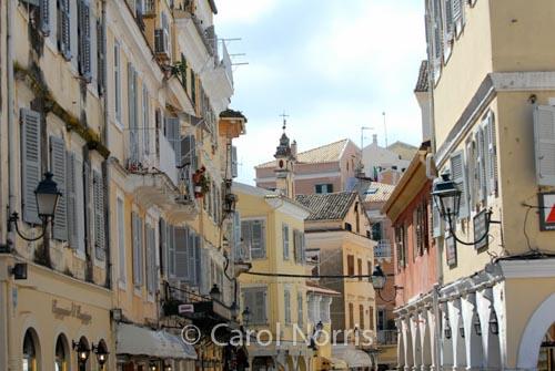 European-Corfu-Greece-Greek-island-streets