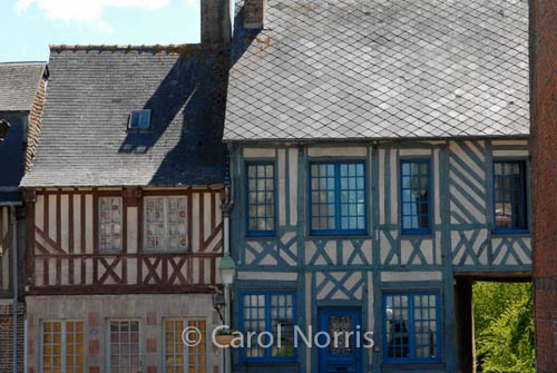 normandy-houses-painted