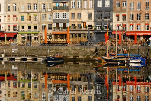 reflection-boats-honfleur-normandy