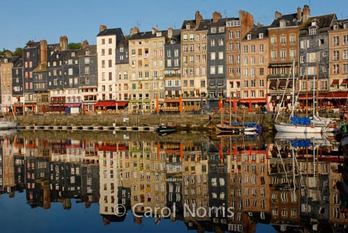 reflection-boats-houses-honfleur-normandy