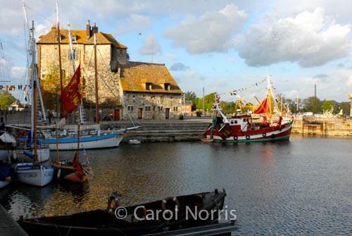 Honfleur Harbour & Honfleur Harbour | Carol Norris photography