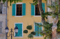 Provence-France-turquoise-shutters-lamps.jpg